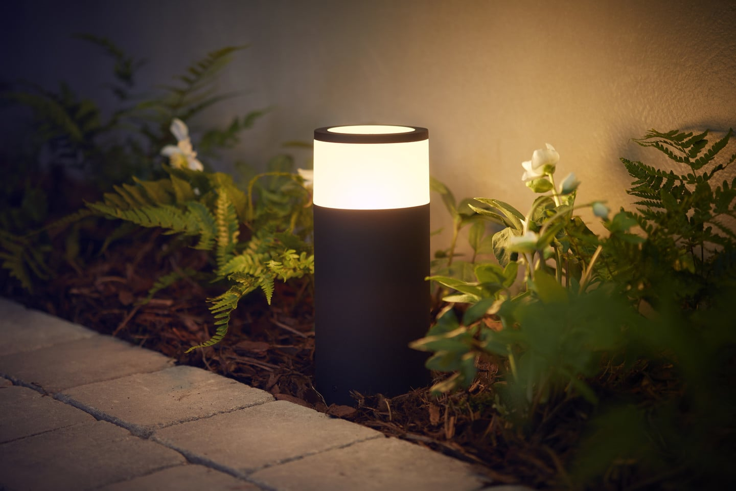 Have a look at Philips Hue's new outdoor smart lights