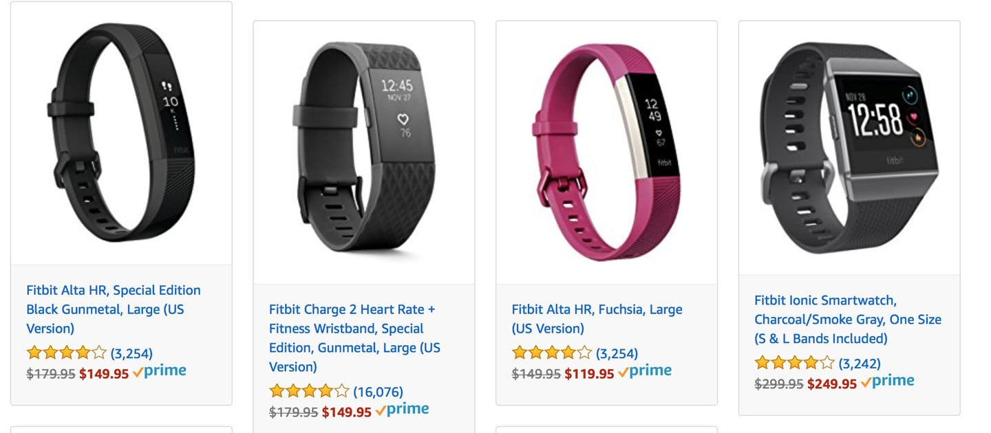 Huge Discounts on Fitbit Products