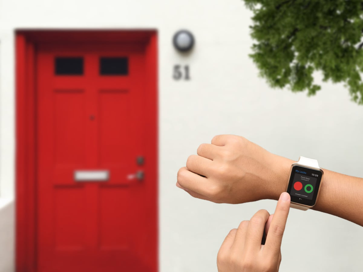Unlock Doors with Apple Watch