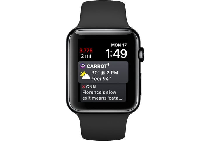 The app is now available on the Siri watch face in watchOS 5.