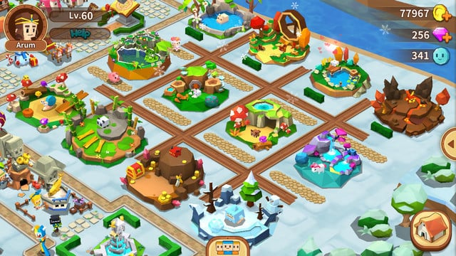 QubeTown is an Animal Crossing-Style Fantasy Adventure for Mobile, Out Now