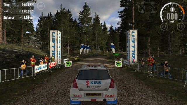 Rush Rally 3 Speeds Into the App Store With More Realistic Racing Action