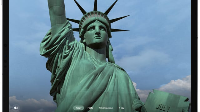 The Statue of Liberty App Allows Anyone to Visit the Landmark Using Augmented Reality