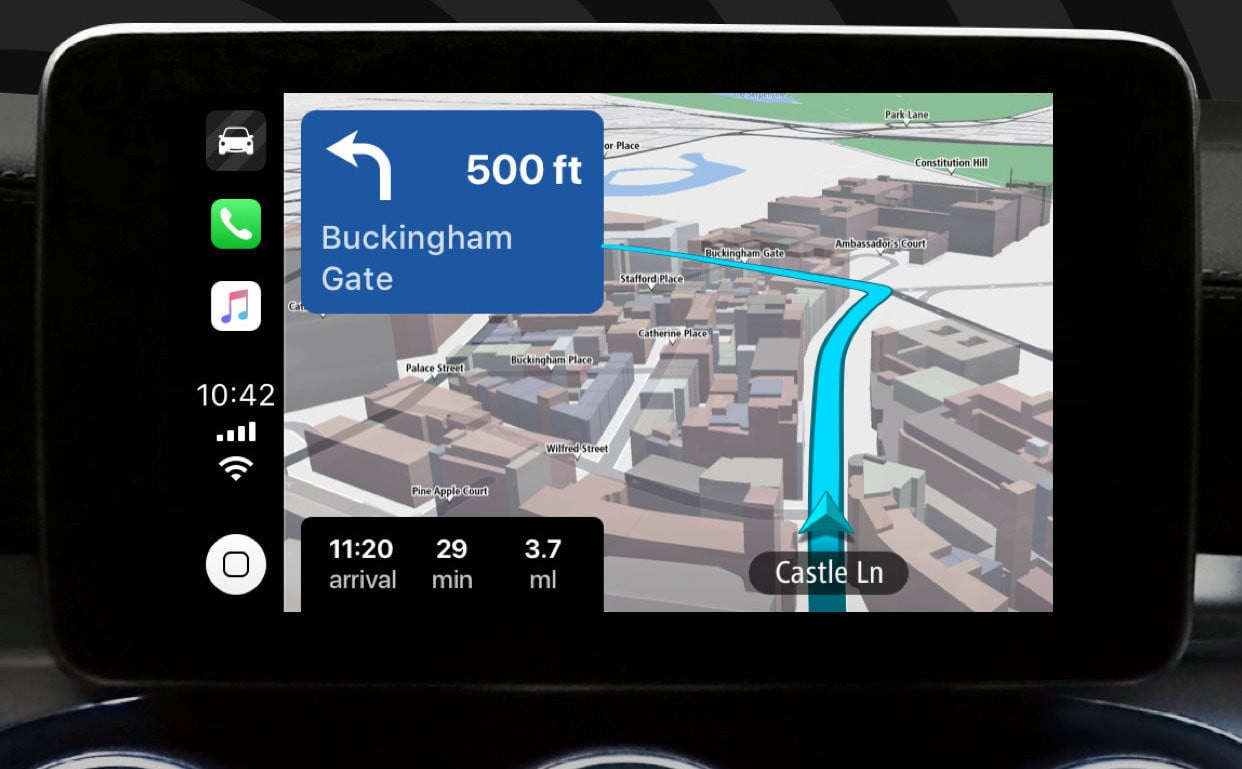 Tomtom Go Navigation Updated With Apple Carplay Support