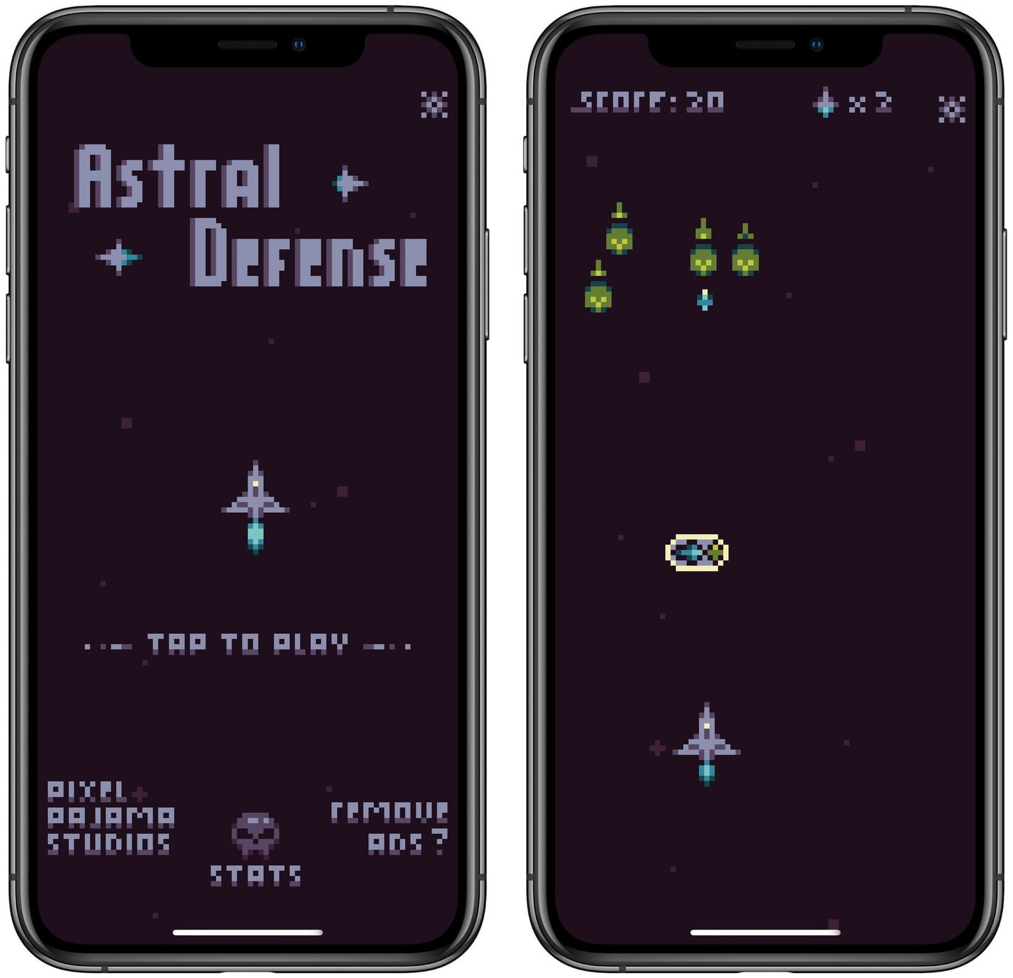 Relive Your Best Arcade Moments in the New Retro Space Shooter Astral Defense