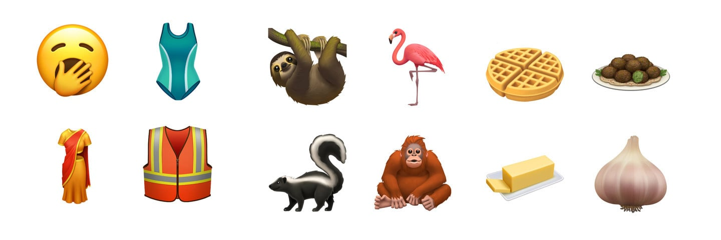 Apple Previews all of the New Emoji Coming in iOS 13