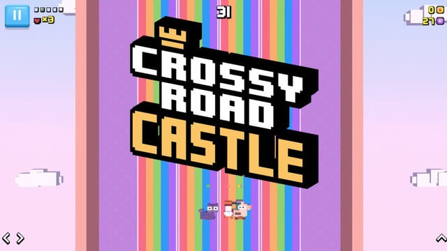 Crossy Road Castle is Coming Soon to Apple Arcade
