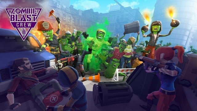 Zombie Blast Crew is a Tactical Arcade Style Shooter from Vivid Games