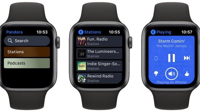 Stream Pandora Using the New Standalone Apple Watch App