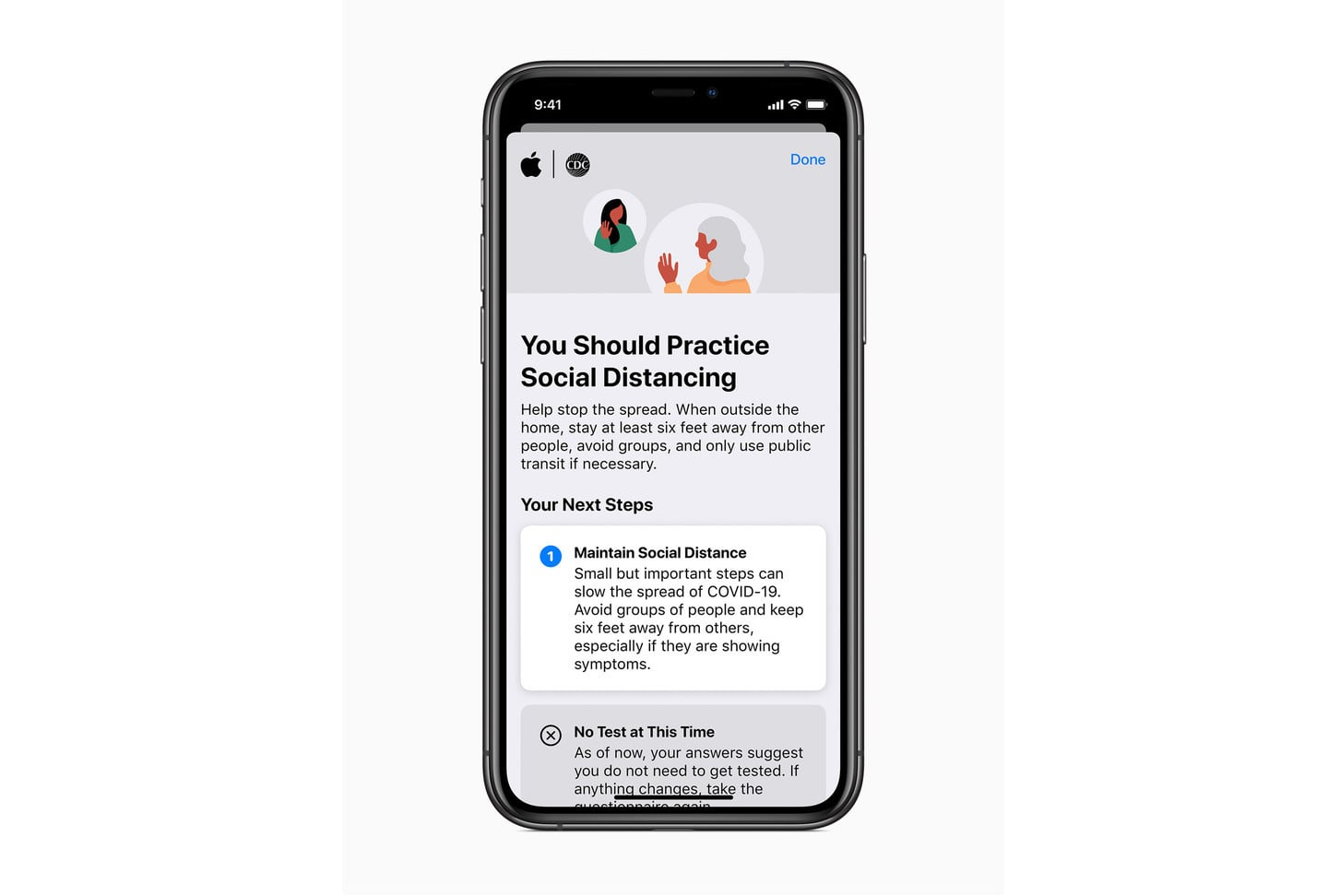 Apple Updates its COVID-19 App With Anonymous Health and Symptom Sharing