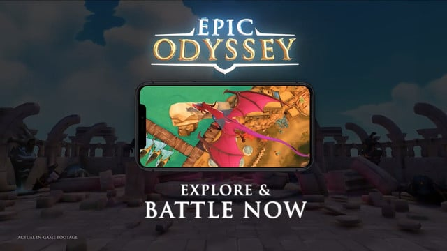 Epic Odyssey is an Open World Hero-Collecting RPG with a Killer Art Style