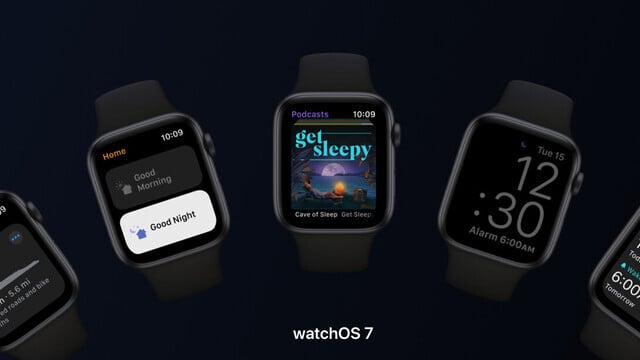 watchOS 7 Lands With New Sleep App, Face Sharing and More