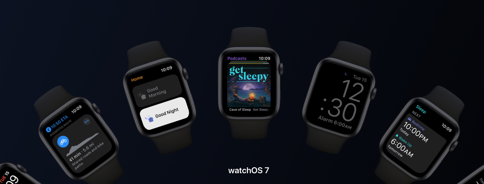 photo of watchOS 7 Lands With New Sleep App, Face Sharing and More image