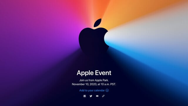 Apple Announces 'One more thing' Event Next Tuesday