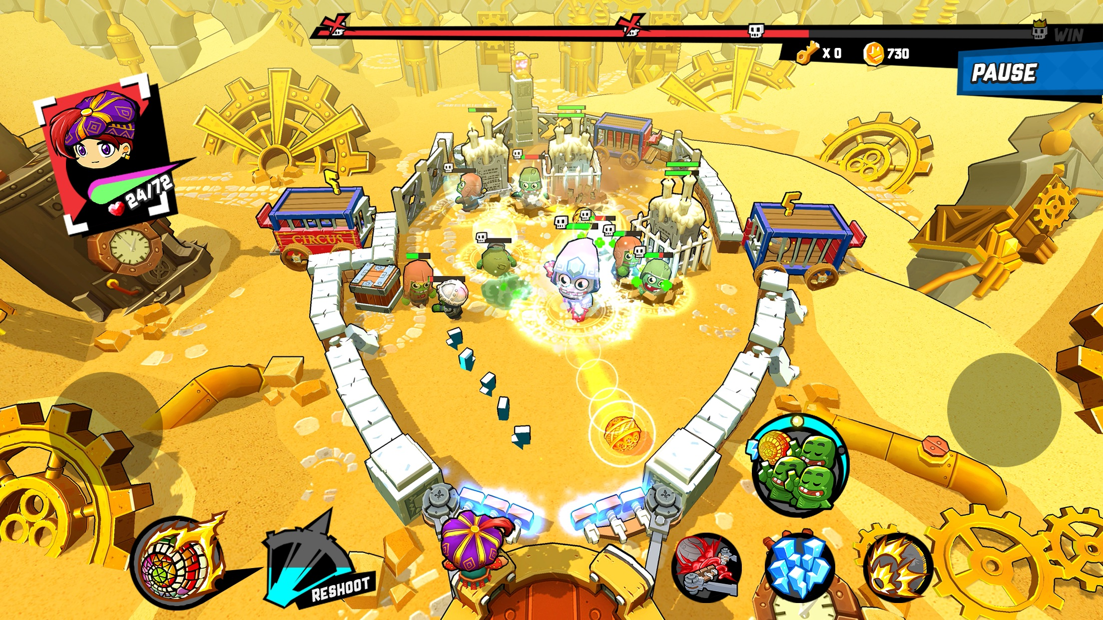 photo of Zombie Rollerz: Pinball Heroes Brings Together Pinball and Tower Defense image