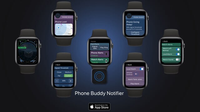 Phone Buddy Notifier Will Prevent You From Misplacing Your iPhone or Apple Watch Ever Again