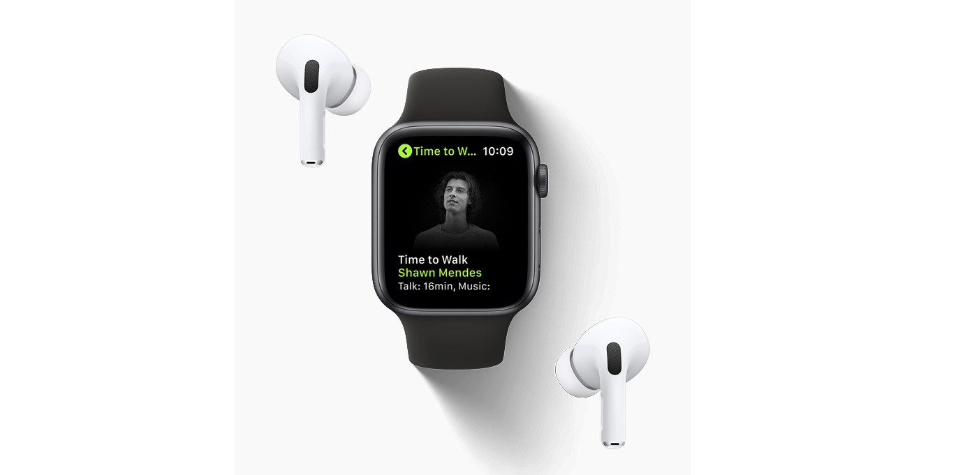 photo of New Time To Walk Feature Arrives on Apple Fitness+ image