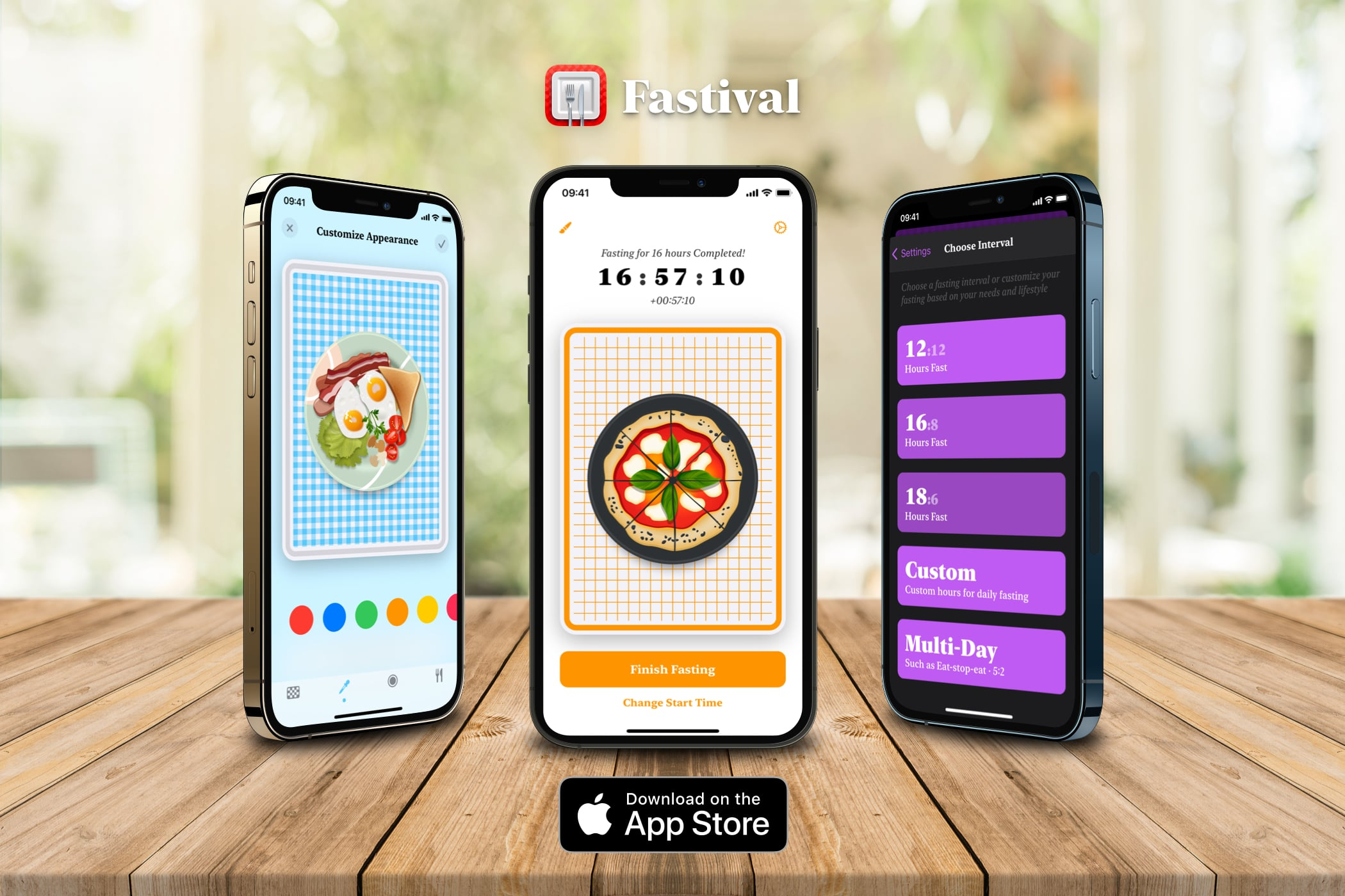 photo of Fastival Is a Slick, Free, User-Friendly Way to Try Intermittent Fasting image