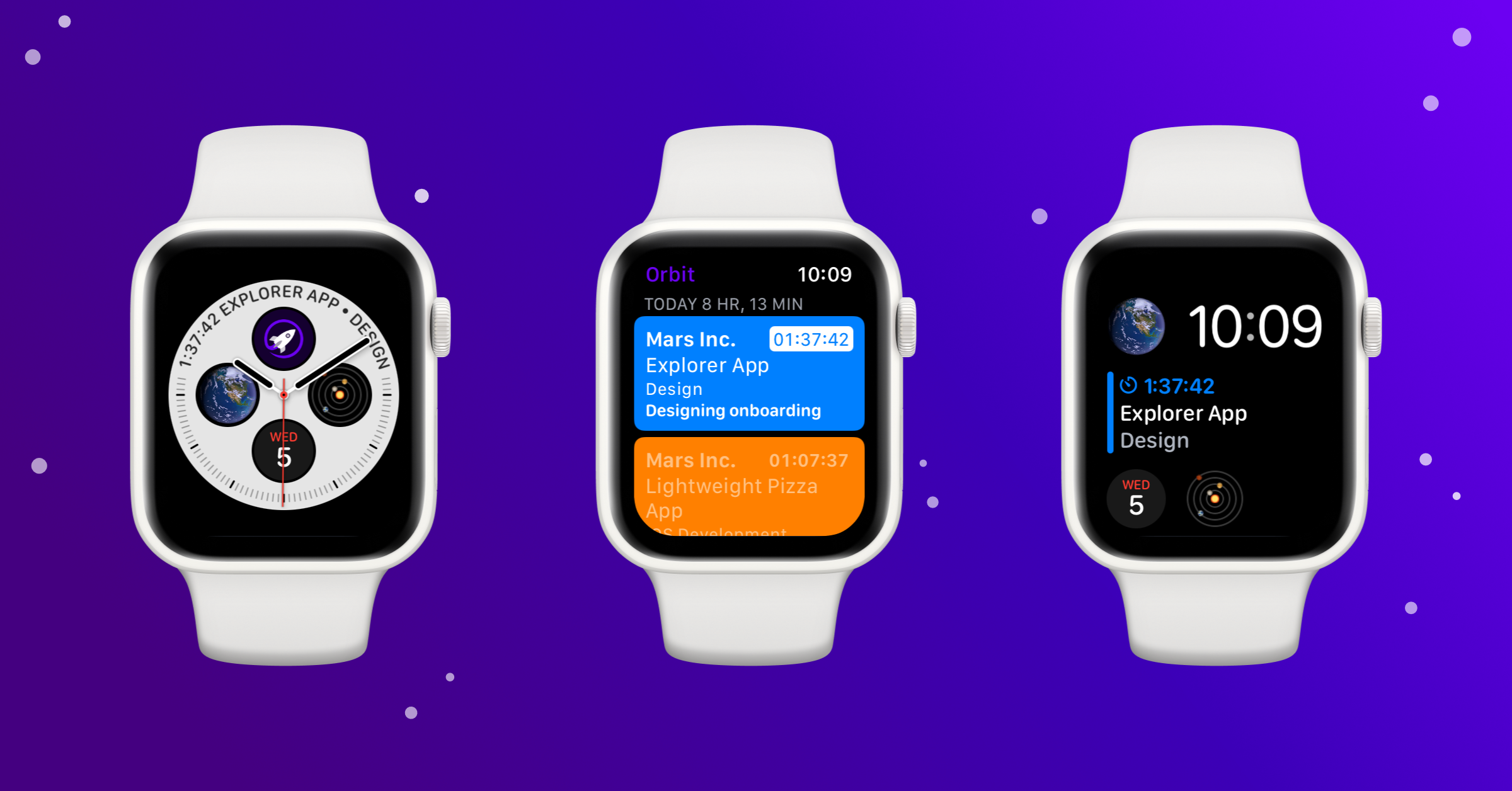 Orbit Time Tracking and Billing App Adds Apple Watch Compatibility