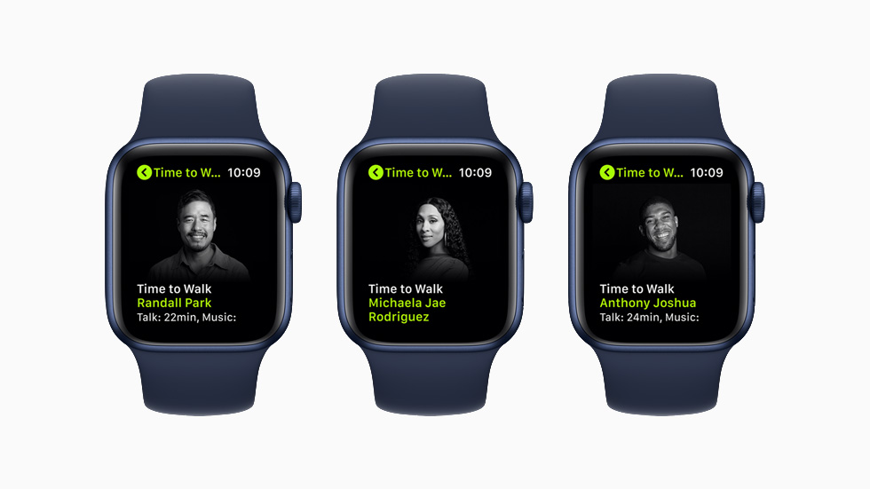 photo of New Time to Walk Episodes Arriving on Apple Fitness+ Starting Next Week image