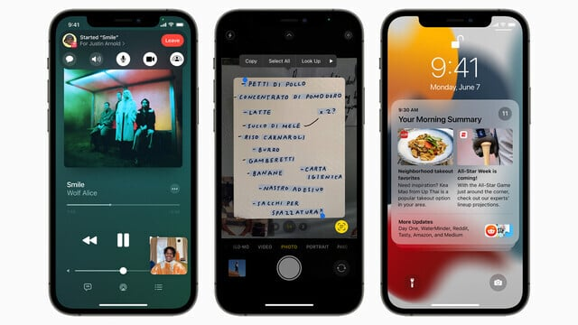 Apple Unveils iOS and iPadOS 15 With Improved Notifications and More