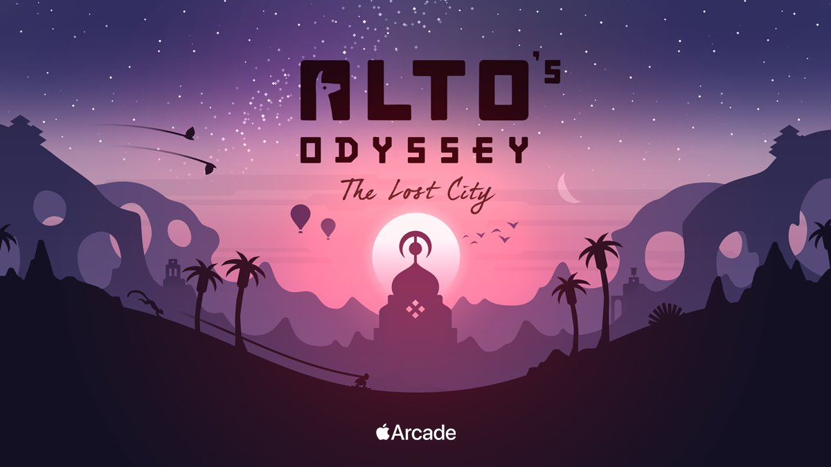 photo of Alto's Odyssey: The Lost City, Angry Birds Reloaded Headed to Apple Arcade image
