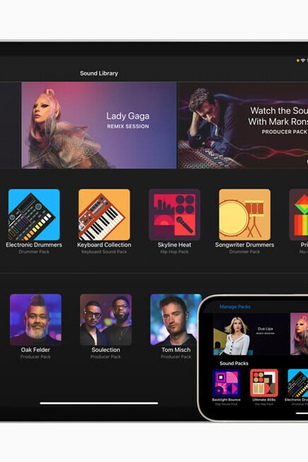 Apple Updates GarageBand With New Sound Packs from Lady Gaga and More