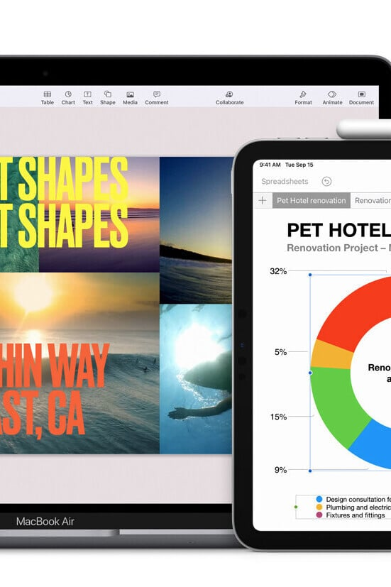 Apple Updates Pages, Numbers, and Keynote