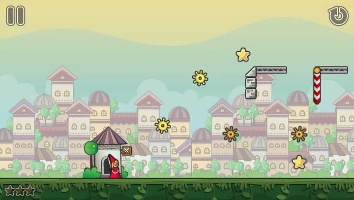 Jump and swing to rescue the princess in Epic Eric, a charming puzzle platformer