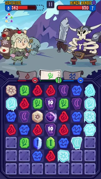 Adult Swim and PikPok deliver a hit with Adventure Xpress, a match-three puzzle RPG