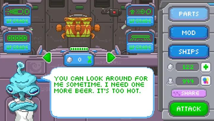 Now you can invade Earth as the Human Crasher, an action-packed arcade game