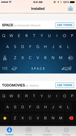 Add some delightful personality to your keyboard with Themeboard from Taphive