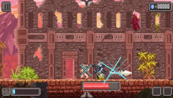 Plow through endless hordes of monsters in Combo Queen, a challenging endless hack-n-slash game