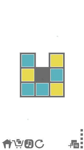 Flip and invert your way to find the stripes in Tile Enigma, a stimulating puzzle game