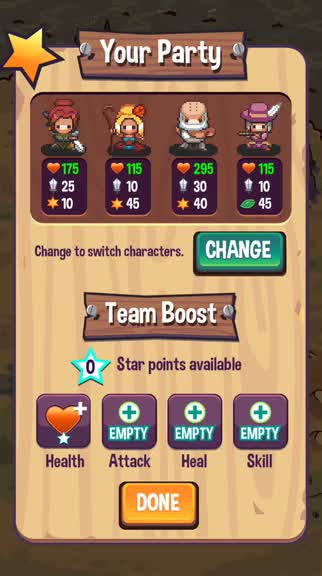 Strategically swap your heroes to become victorious in Swap Heroes 2, a tactical RPG game