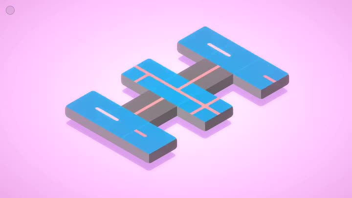 Connect the Lines in Klocki, a Gorgeous Puzzler