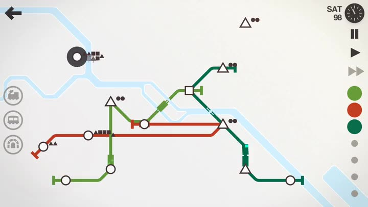 Build Your Dream Subway System in Mini Metro