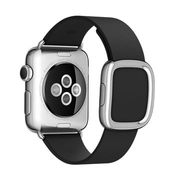 The Best Non-Apple Black The Best Replica Modern Buckle Apple Watch Band