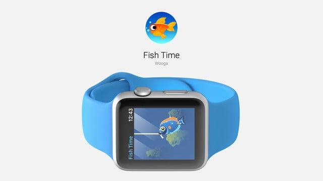 Fish Time is a Fishing Simulation Game for Apple Watch